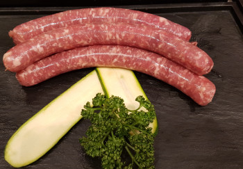 Chipolatas, Saucisses basquaises