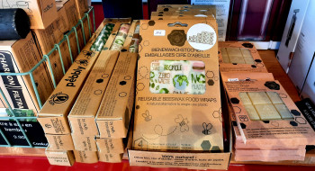 Emballages alimentaire à la cire d'abeille