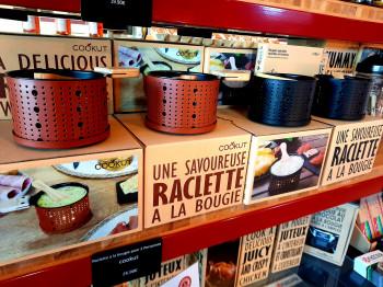 Raclette a la bougie