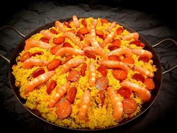 Paella à l'Andalouse