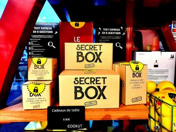 Les secrets box de table COOKUT