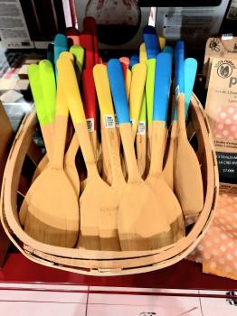 Les spatules en bois